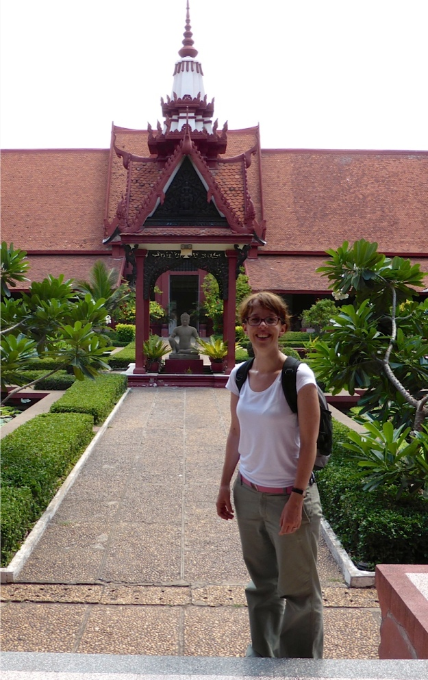 Yours truly at the National Museum Phnom Penh